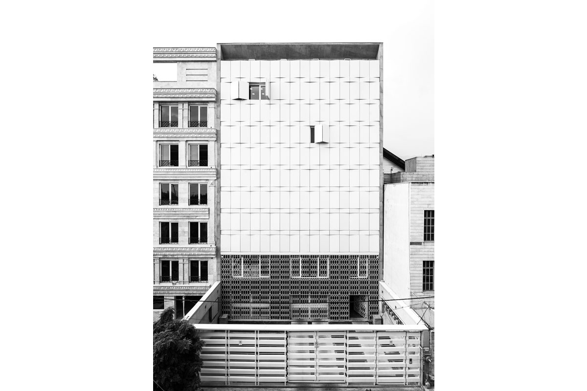 Aabvarzan Office Building, Zav Deisgn & Build - 2nd Place